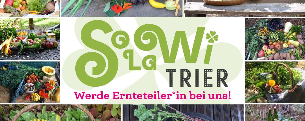 Solawi Trier - Werde Ernteteiler bei uns